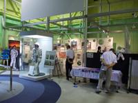 星出宇宙飛行士&「こうのとり」3号機打上げ企画展の様子(出典:JAXA)