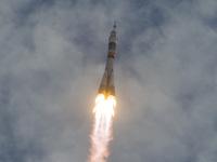 星出宇宙飛行士らが搭乗する31Sの打上げ(出典:JAXA/NASA/Carla Cioffi)
