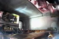 REX-Jに搭載されているカメラで撮影されたロボットの様子(出典:JAXA)