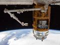 宇宙ステーション補給機「こうのとり」4号機(HTV4)がISSへ到着