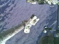 点検が行われたSSRMS(提供:NASA)
